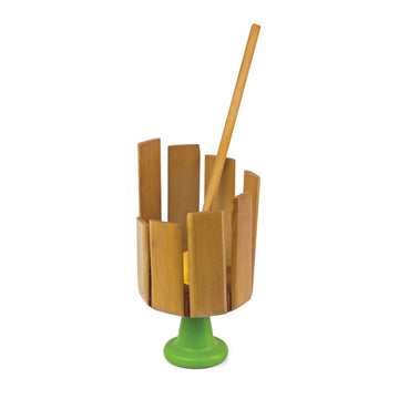 Wooden Stirring Xylophone - Green Tones - Oompa Toys