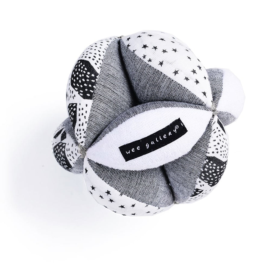 Wee Gallery - Organic Sensory Puzzle Ball - Bella Luna Toys