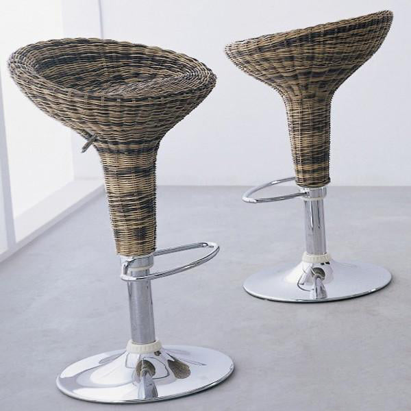 Outdoor Wicker Bar Stool - Bloom