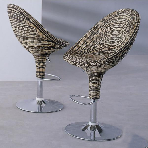 Outdoor Wicker Bar Chair - Bloom