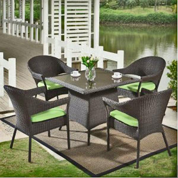 Outdoor Wicker Garden Set - Greenathon