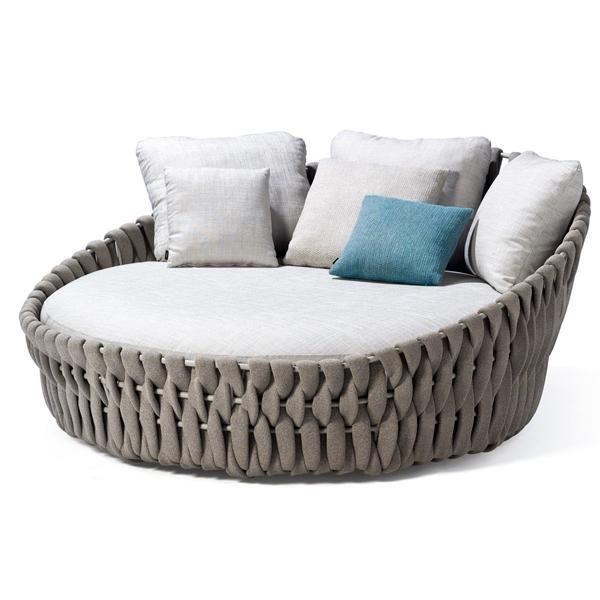 Outdoor Braided & Rope Daybed - Birilyant