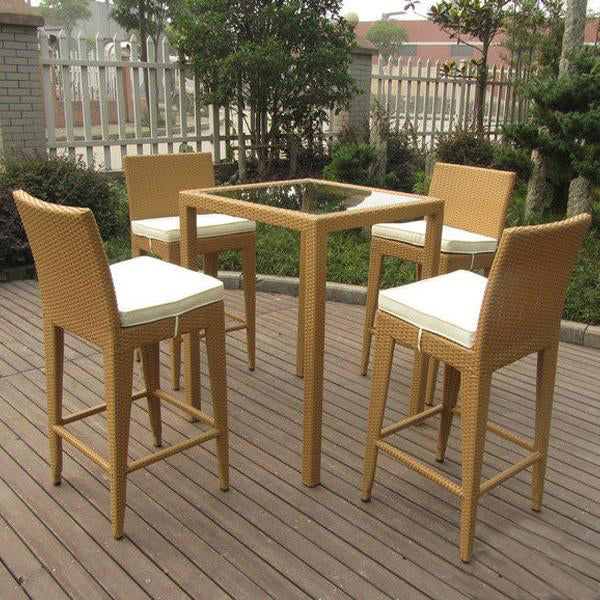 Outdoor Wicker Bar Set - Urban