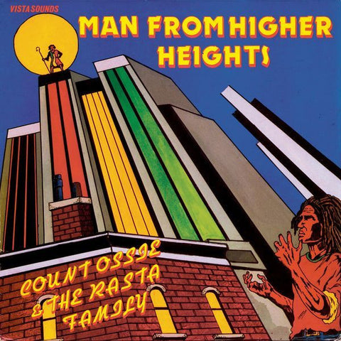 Count Ossie & The Rasta Family - Man From Higher Heights-LP-South