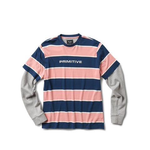 TWO FER LS KNIT