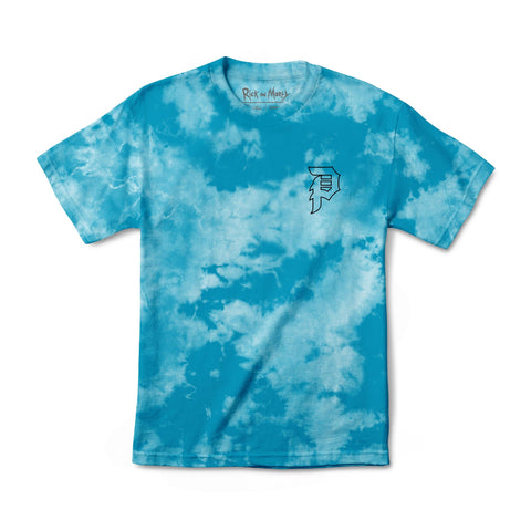 MORTY OUTLINE TIE-DYE TEE