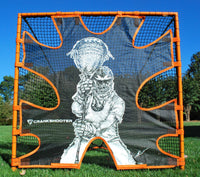 Hi-Impact Lacrosse Shot Trainer for 6'x6'x7' Goal by CrankShooter™ -Triple Stitching - FREE Shipping  (OUT OF STOCK UNTIL JULY 23rd, WE ARE ACCEPTING BACKORDERS)