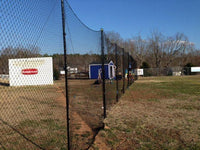 Stationary Backstop System 10' x 30' w/3mm net by CrankShooter™  (OUT OF STOCK UNTIL JULY 23rd, WE ARE ACCEPTING BACKORDERS)