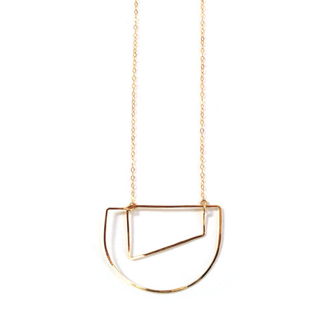 Echo Necklace | Gold