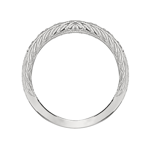 vintage wedding bands, engraved jewelry