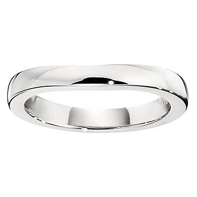 curved wedding bands, curved wedding band, wedding bands that fit against an engagement ring