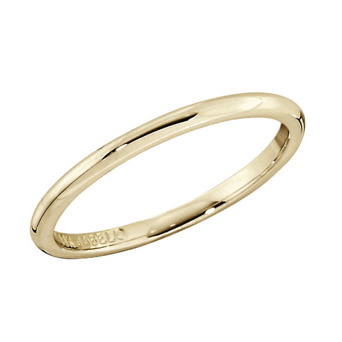 plain gold band, traditional gold band, unisex wedding bands, his and hers wedding bands