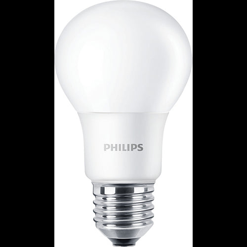 Philips 5W Non-Dimmable LED A19 Shape Frosted Bulb - 40w equiv.