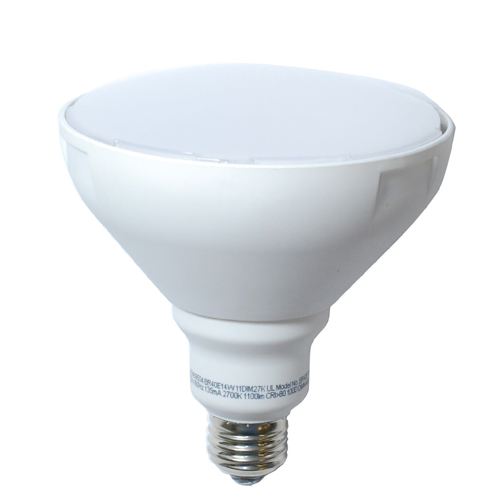 High Quality LED 14w Dimmable BR40 Soft White Light Bulb - 85w Equiv.