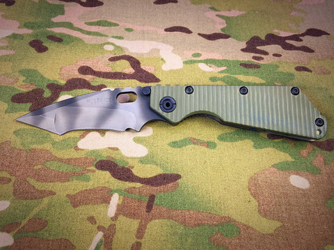 Mick Strider Tanto Nightmare Ground Recurve - Free Shipping