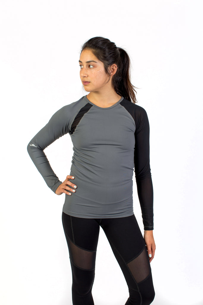 Gladiatrix Long Sleeve Grey