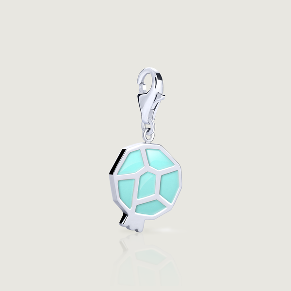 Turquoise Pomegranate Dangle Charm