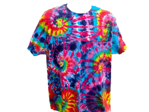 Tie Dye Burning Man T Shirt