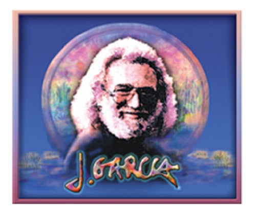 Grateful Dead Jerry Garcia Wetlands Outdoor Sticker