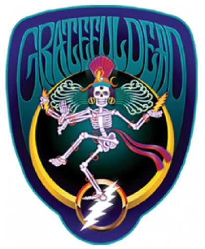Grateful Dead Skeleton Shiva Outdoor Sticker