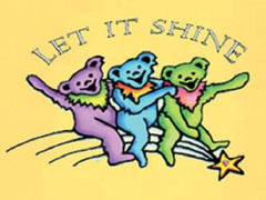 Grateful Dead - Let It Shine Bears Youth T Shirt