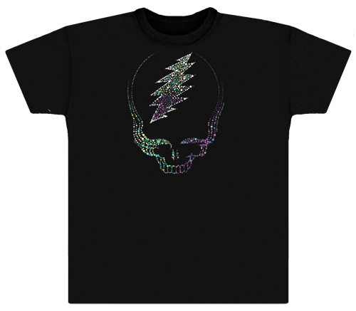 Grateful Dead Sparkling Steal Your Face T Shirt