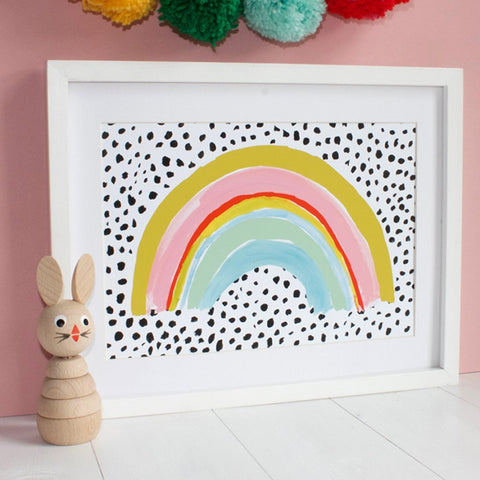 Eleanor Bowmer: Rainbow Print (A4)