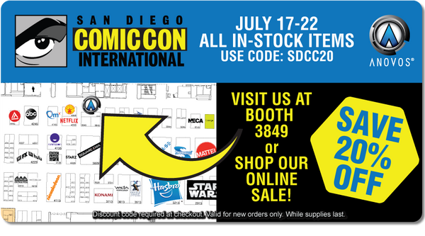 Comic Con 2019 Sale | ANOVOS Productions LLC