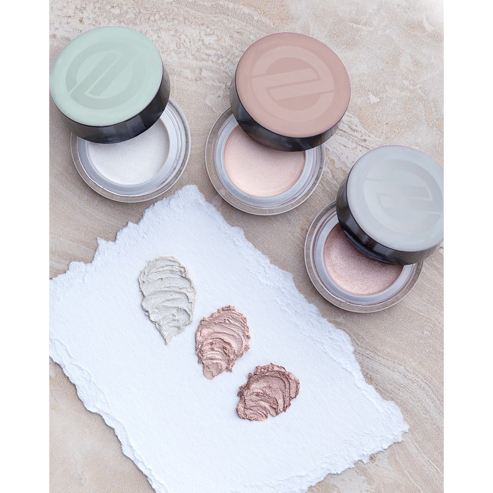 Satin Highlighter Cream - for Cheeks, Lips, & Eyes - Titanium Dioxide-Free