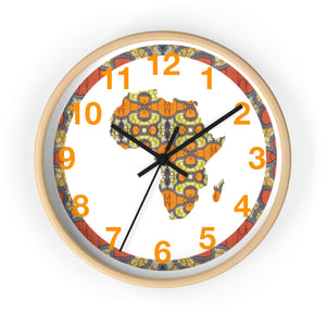 Leo  African Inspired Wall clock