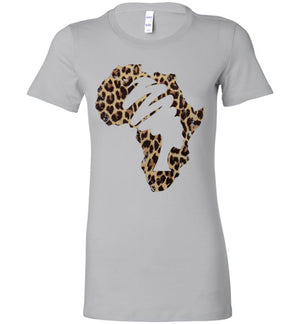 Mama Africa Ladies Perfect Tee Shirt Animal Print