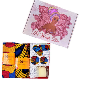 Tiffany Head Wrap And Jewelry Set - Zabba Designs African Clothing Store