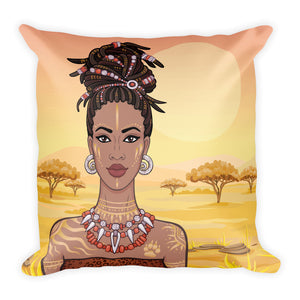 It Takes A VillageThrow Pillow - Zabba Designs African Clothing Store