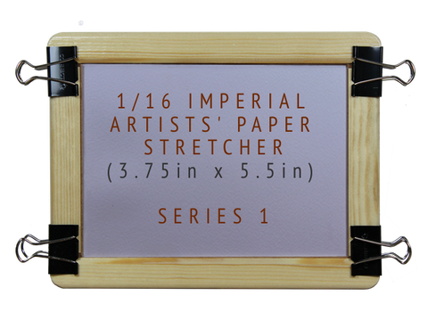 1/16 Imperial Artists' Paper Stretcher for Watercolour - Series 1 (5.5in x 7.5in)