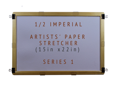 1/2 Imperial Artists' Paper Stretcher for Watercolour - Series 1 (15in x 22in)
