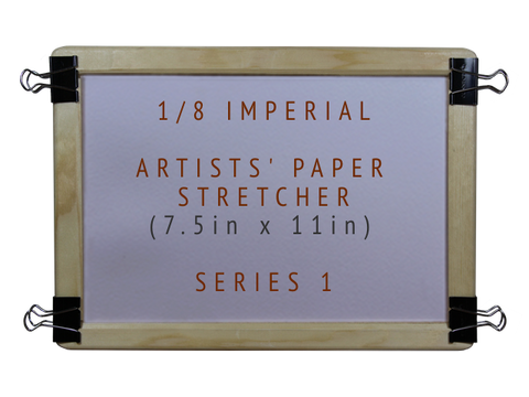 1/8 Imperial Artists' Paper Stretcher for Watercolour - Series 1 (7.5in x 11in)