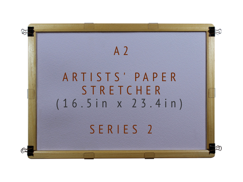 A2 Artists' Paper Stretcher for Watercolour - Series 1 (16.5in x 23.4in)