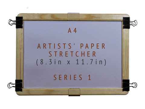 A4 Artists' Paper Stretcher for Watercolour - Series 1 (8.3in x 11.7in)