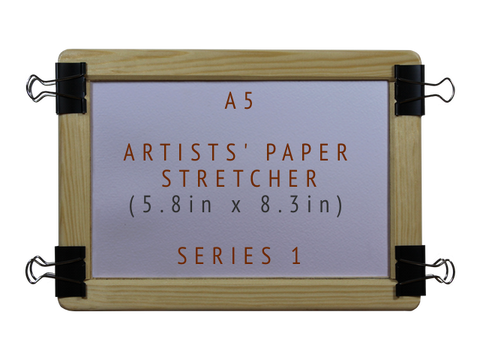 A5 Artists' Paper Stretcher for Watercolour - Series 1 (5.8in x 8.3in)