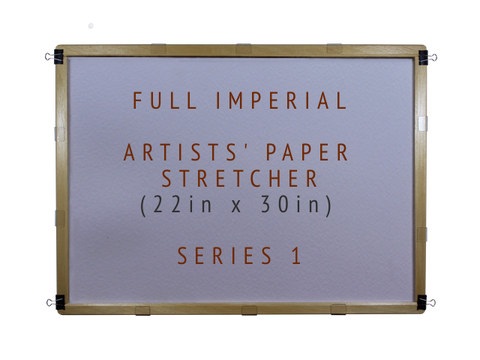Full Imperial Artists' Paper Stretcher for Watercolour - Series 1 (22in x 30in)