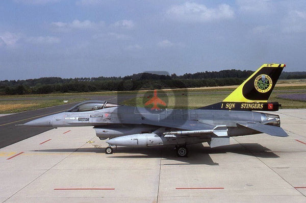 FA47 General Dynamics F-16A, Belgian AF(1Sqn), 2001, special colours