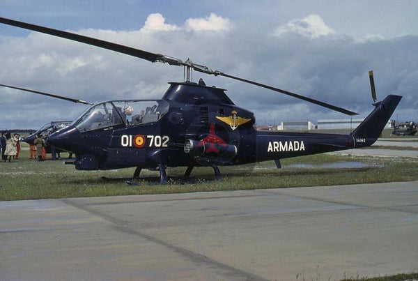 HA.14-2(01-702) Bell AH-1G, Spanish Navy, 1981