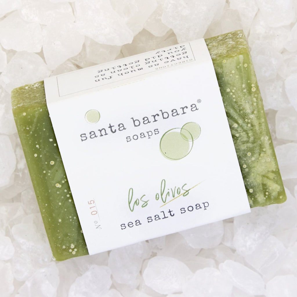 Los Olivos Sea Salt Soap