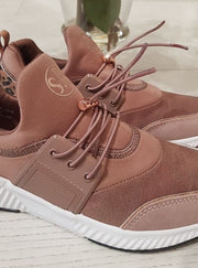 Rose Gold Combination Sneakers *PRE ORDER*