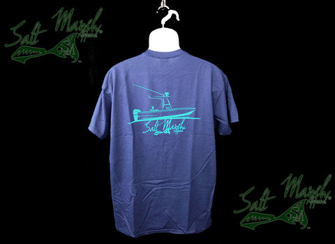 Salt Marsh Apparel - Boat Logo Navy