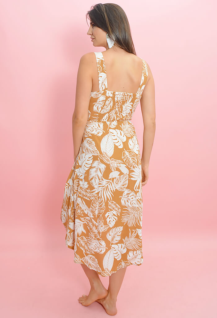 Safari Escape Midi Dress