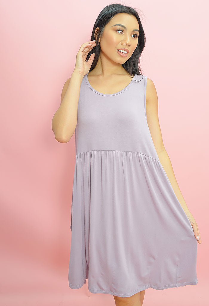 Dusty Lavender Dress