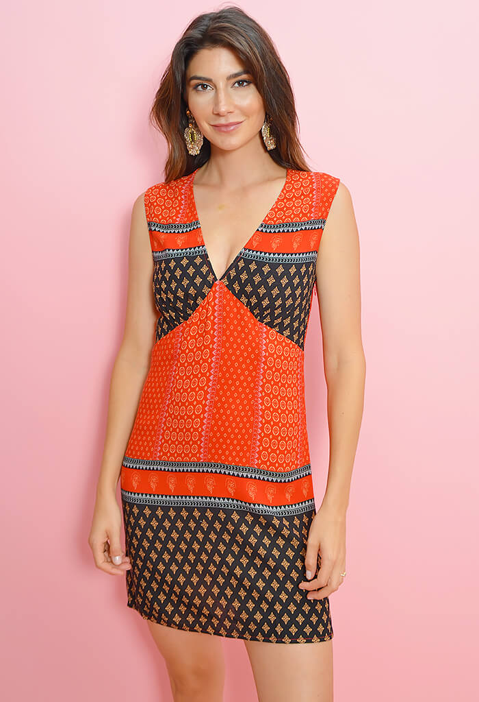 Hail Sunrise Mini Dress