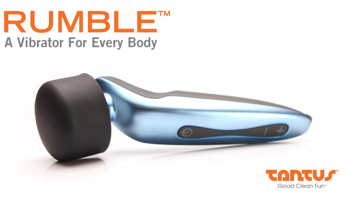 Tantus Launches Crowdfunding Campaign for Rumble™, A Vibrator for Every Body