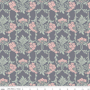Liberty of London Nouveau Mayflower Gray/Pink